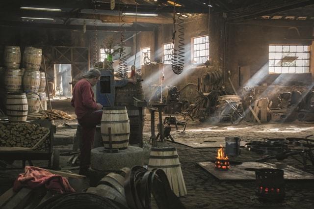 barrel making tour porto