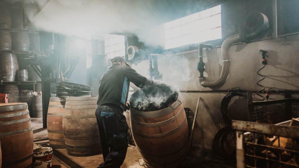 char of barrels